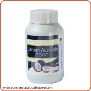 Carbon vegetal activado de coco