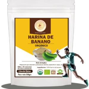Harina de banano