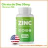 citrato de zinc 50mg