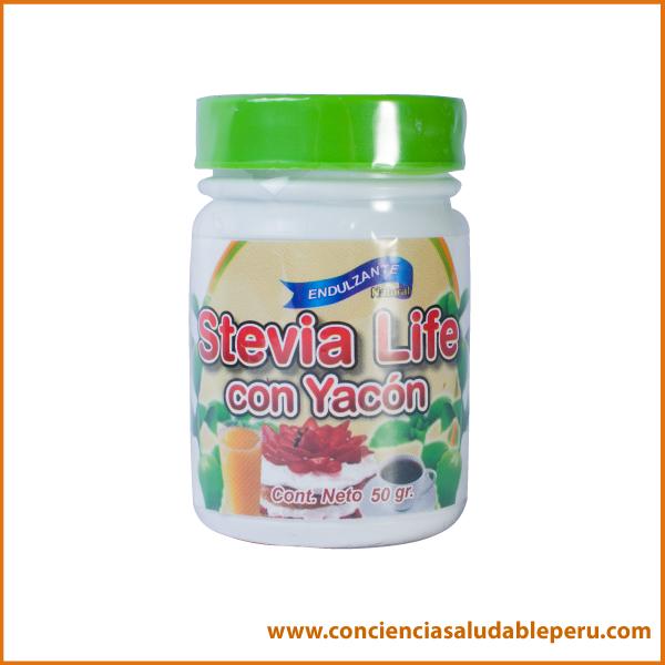 Stevia con yacón 50grs